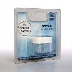 "Poudre sparkles scintillante ""pastel bleu"""