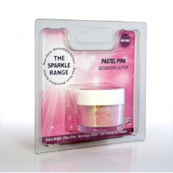 """Poudre sparkles scintillante """"pastel pink"""""""