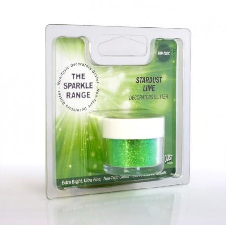 """Poudre sparkles scintillante """"stardust citron vert"""""""