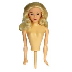 Buste poupée blonde