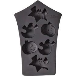 Moule en silicone mini gâteaux Halloween
