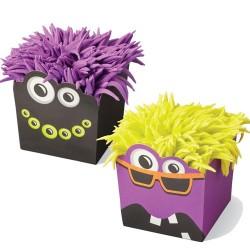 "12 caissettes ""Monstres d'Halloween"""