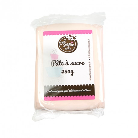 Pâte à sucre Rose pâle udisme - 250 g