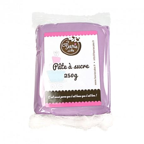 Pâte à sucre Lilas - 250g