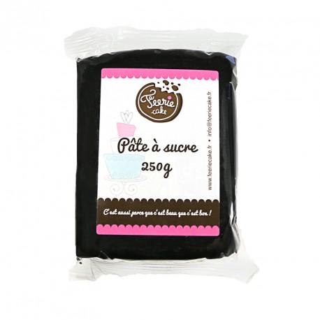 Pâte à sucre Noir - 250 g