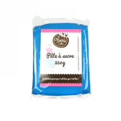 Pâte à sucre Bleu - 250g