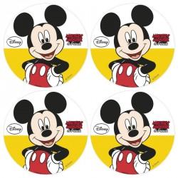 12 mini disques azyme Mickey pour cupcakes