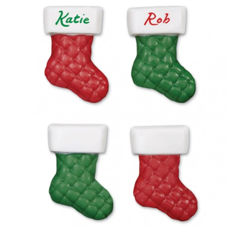 """Moule à chocolats """"chaussettes de Noël"""""""