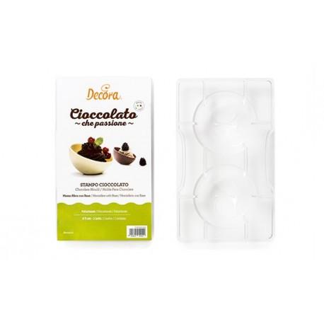 Moule pour demi-sphère en chocolat - 7,5 cm