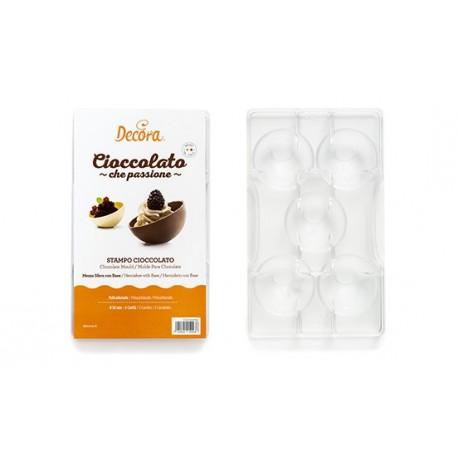 Moule pour demi-sphère en chocolat - 5 cm