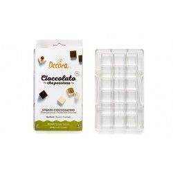Moule pour mini chocolats carrés