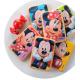 Feuille de sucre prédécoupée biscuits - Minnie et Mickey