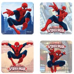 Feuille de sucre prédécoupée biscuits - Spiderman