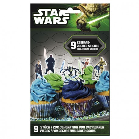 Stickers comestibles - Star Wars
