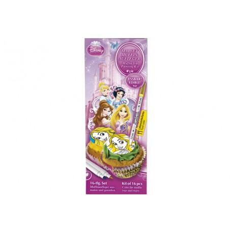 Kit de décoration de cupcakes - Princesses Disney