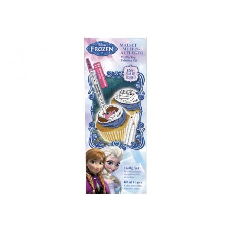 Kit de décoration de cupcakes - La Reine Des Neiges