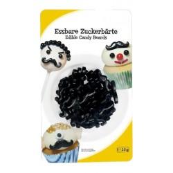 Moustaches décoratives en sucre