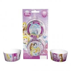 50 caissettes à cupcake - Princesses Disney