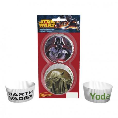 50 caissettes à cupcake - Star Wars