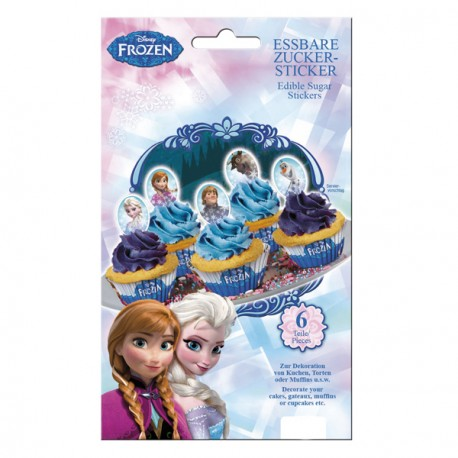 Stickers comestibles - La Reine Des Neiges