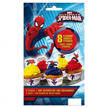 Stickers comestibles - Spiderman