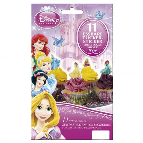 Stickers comestibles - Princesses Disney