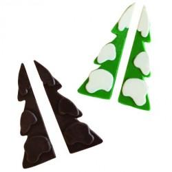 """Moule à chocolat """"sapin enneigé"""""""