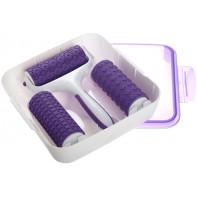 Accessoire pour embossage de la pâte à sucre - 3 motifs