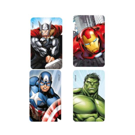 Feuille de sucre prédécoupée biscuits - Avengers