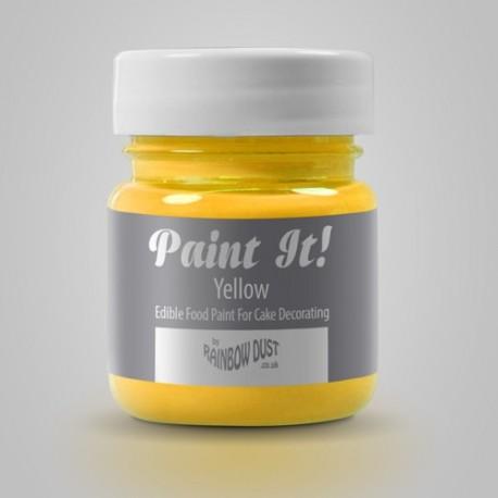 Peinture alimentaire 25 ml - différentes couleurs