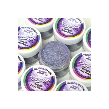 "Poudre comestible starlight ""purple planet"""