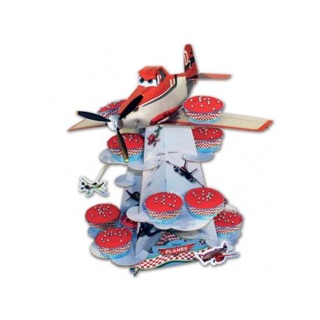 Présentoir à cupcakes Planes