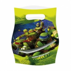 """6 sacs à confiserie """"Tortues Ninja"""""""