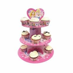 """Présentoir à cupcakes """"Princesses Disney"""""""