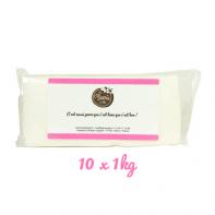 Pâte à sucre 10kg - Blanc