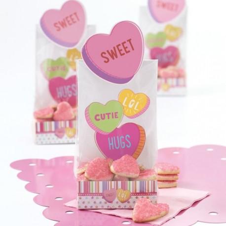 """6 sachets à confiseries """"sweet"""""""