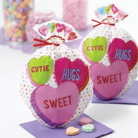 """15 sachets à confiseries """"sweet"""""""