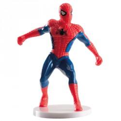 Figurine gâteau Spiderman sur socle