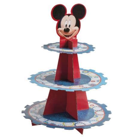 "Présentoir à cupcakes ""Mickey"""