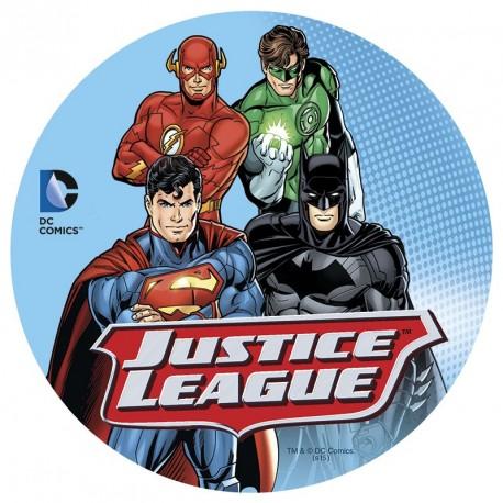 Disque de sucre Justice League - 16 cm