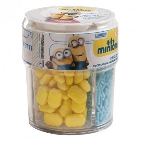"""Décorations en sucre """"minions"""""""
