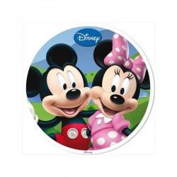 Disque azyme La Maison de Mickey 20 cm - Différents modèles