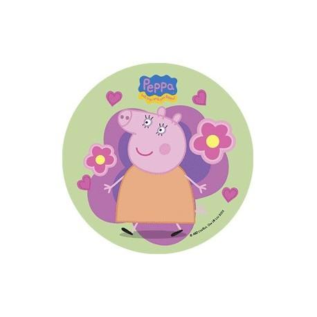 Disque azyme Peppa Pig 21cm - Différents modèles