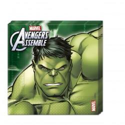 20 serviettes - Avengers