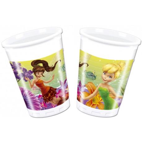 8 gobelets - Fairies Disney