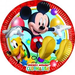 8 assiettes 23 cm - Mickey