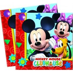 20 serviettes - Mickey