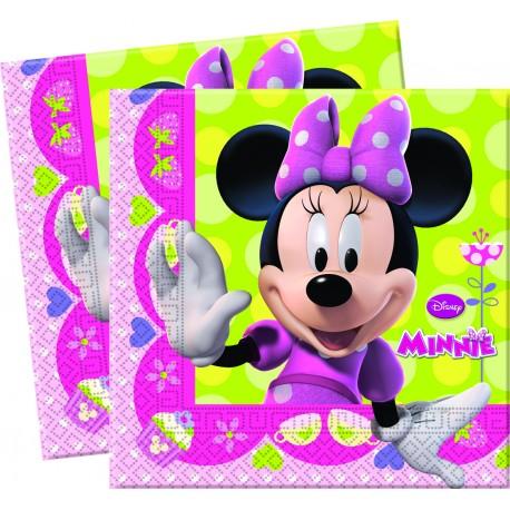 20 serviettes - Minnie