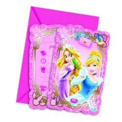 20 serviettes - Princesses Disney