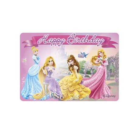 Bougie décor - Princesses Disney